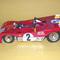 détail miniature de voiture Ferrari 312 PB Sebring 72 (KIT au 1/12e) MG Model Plus