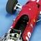 détail miniature de voiture Ferrari 312 V12 F.1 GP Espagne 68 (1:12e) MG Model Plus