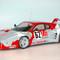 détail miniature de voiture Ferrari 512 BB LM 24h du Mans 79 #63 MG Model Plus