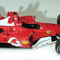 détail miniature de voiture Ferrari F2004 F.1 GP Australie #1 Schumacher (1:12e) MG Model Plus