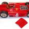 détail miniature de voiture Lancia D.50 F.1 GP Allemagne 56 Fangio (KIT au 1/12e) MG Model Plus