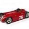 détail miniature de voiture Lancia D50 F.1 GP Monaco 55 course Ascari (1:12e) #26 MG Model Plus