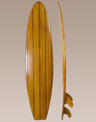 Planche de surf en bois d coration - Planche de surf de decoration ...