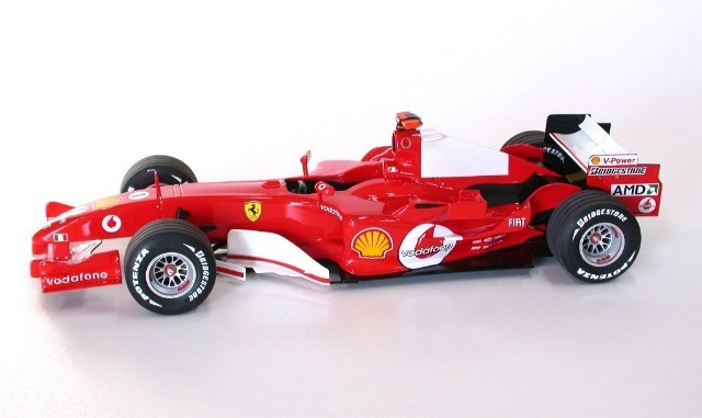 maquette ferrari f2005. Black Bedroom Furniture Sets. Home Design Ideas