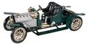 Mamod Brooklands Tourer (Talbot 105) SA1, verte à chaudière vapeur SA1BT