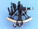 Sextant triangulaire 25 cm à micromètre + coffret bois