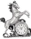 Etains du Prince Horloge étain cheval HO 2