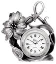 Etains du Prince Horloge étain fleur HO 1