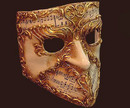 Blue Moon Mask Bauta Musica