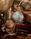 Authentic Models -AM- Globe Vaugondy 1745