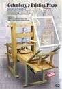 Artesania Latina Imprimante de Gutenberg
