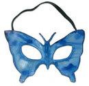 Novica Masque cuir 'Papillon Bleu'