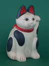 Parastone Maneki Neko (Meiji era, late 19th century)