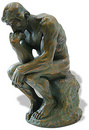 Parastone The Thinker of Rodin (1880)