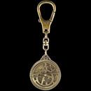 Hémisferium Astrolabe keyring