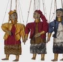 Marionnettistes de Birmanie Femme girafe  PALAUN  - 35 cm