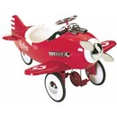 Airflow Collectibles Silver Poursuit pedal plane