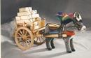 Kosen Sicilian cart, donkey alpaga