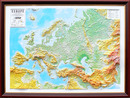 Testplay Carte décorative Europe - 3 D