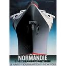 Authentic Models -AM- S.S. Normandie – Cassandre