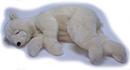 Anima Ours dormeur crème - 75 cm