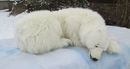 Anima Polar Bear Sleeper 105cmL