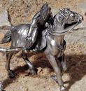 Etains du Prince Estafette à cheval
