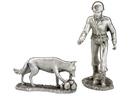 Etains du Prince Equipe cynophile (pompier avec chien)