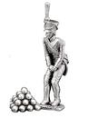 Etains du Prince Artilleur A4 plus tas boulets