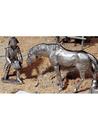 Etains du Prince Le piqueur et le cheval Coco