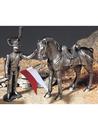 Etains du Prince Lancier et son cheval