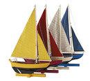 Authentic Models -AM- Flotille de 4 voiliers
