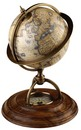 Authentic Models -AM- Terrestrial globe with Compass