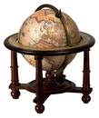 Authentic Models -AM- Globe terrestre de navigateur