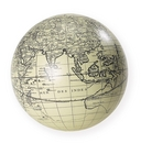 Authentic Models -AM- Globe Vaugondy 14 cm ivoire + support