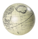 Authentic Models -AM- Globe Vaugondy 18 cm ivoire + support