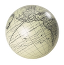 Authentic Models -AM- Globe Vaugondy ivoire 12 cm + support