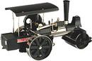 Wilesco D398 - Rouleau compresseur à vapeur set (noir/nickel ) incl. radio-télécommande
