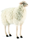 Anima Mouton debout brun 100 cm