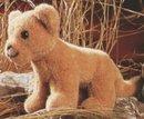 Kosen Lion bébé 22 cm