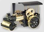 Wilesco D366 - Steam Roller black/brass