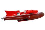 maquette de bateau, voilier, runabout Nando Dell'Orto Arno XI - 25 cm 494.40 € ttc