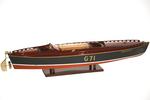 maquette de bateau, voilier, runabout George Crouch Rainbow IV - 50 cm 830.00 € ttc