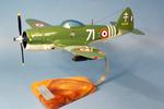 maquette d'avion Alexander Nikolaievich Prokofiev de Seversky Republic P-47.D Thunderbolt GC III/3 Ardennes - 43 cm 138.00 € ttc