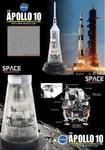 Dragon Space Collection Apollo 10 Command/Service Module and Lunar Module (LM)