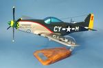 maquette d'avion Edgar Schmued North American P-51.D Mustang - USAAF  Miss Marilyn II - 40 cm 144.00 € ttc