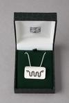 Bijoux Simbolica Juan Manuel Serpent à deux têtes 1 (pendentif et chaine argent) 30.00 € ttc