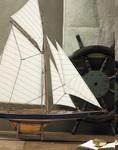 maquette de bateau, voilier, runabout Nathanael Greene Herreshoff Columbia  - 94 cm 163.20 € ttc