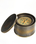 Authentic Models -AM- 19th C. Pocket Compass
