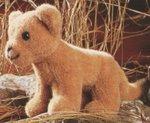 Lion bébé 22 cm